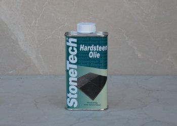 Hardsteen olie buiten
